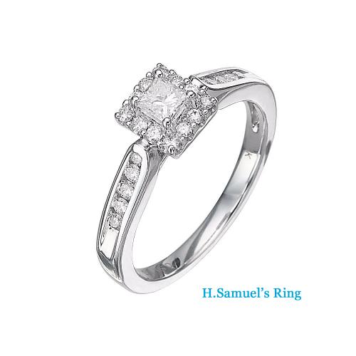 Samuels Emerald Enternity Ring