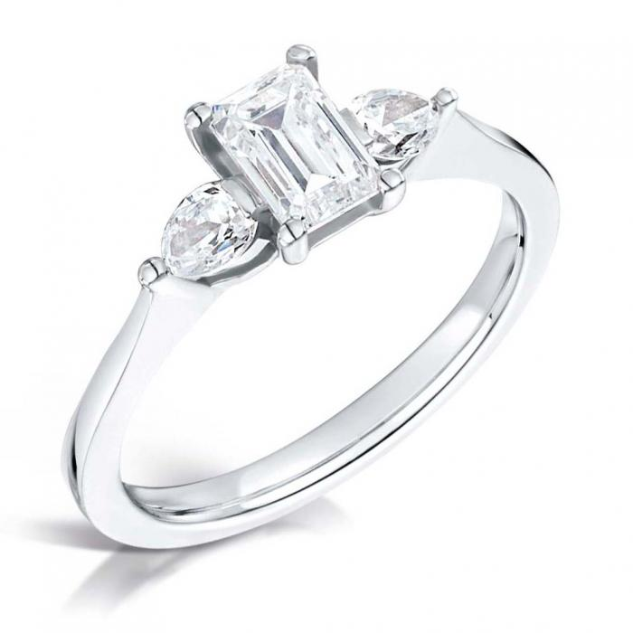 ring martin diamond pear flyer halo item engagement