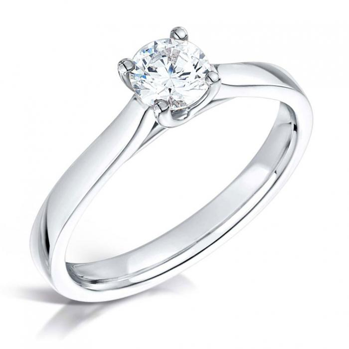 Lucida Bands: Lucida Diamond Engagement Ring