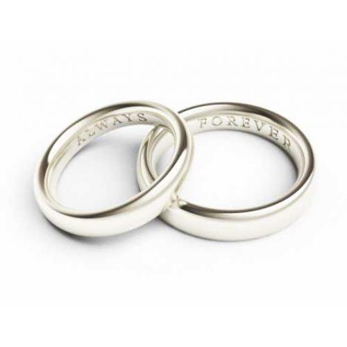 Engraving Ideas For Wedding Bands: Wedding Ring Engraving